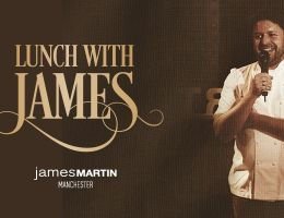 LUNCH WITH JAMES