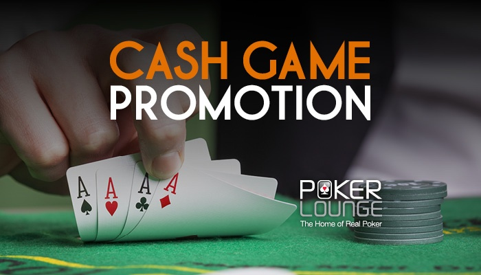 CASH GAME PROMOTION