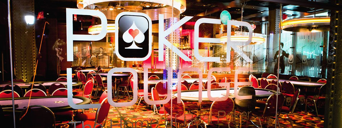 Poker Lounge hire